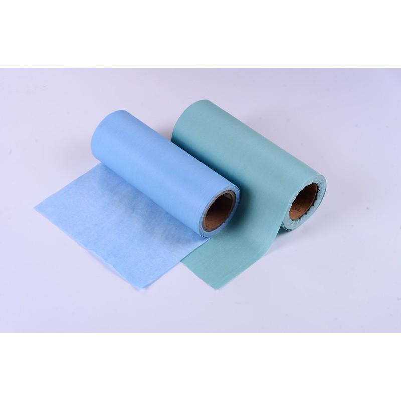 Hydrophilic spunlace woodpulp nonwoven fabric